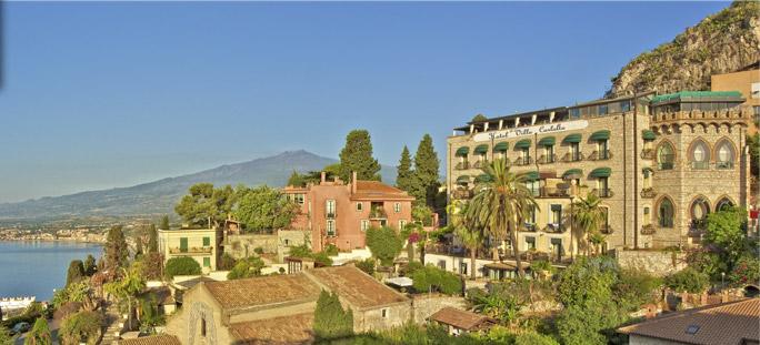 Villa carlotta for Boutique hotel taormina